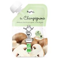 POPOTE Zeleninová kapsička šampiňóny od 4.mesiaca BIO 120 g