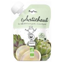POPOTE Zeleninová kapsička artičok od 6. mesiaca BIO 120 g