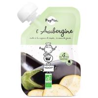 POPOTE Zeleninová kapsička baklažán od 4.mesiaca BIO 120 g