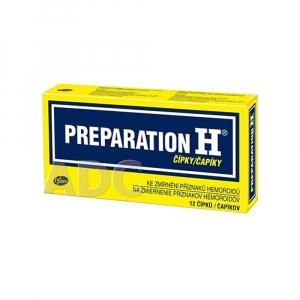 PREPARATION H 12 čapíkov