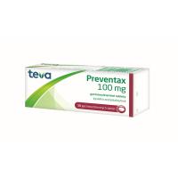 PREVENTAX 100 mg gastrorezistentné tablety 50 kusov