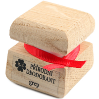 RAE Prírodný krémový dezodorant grep čisto drevená krabička 15 ml