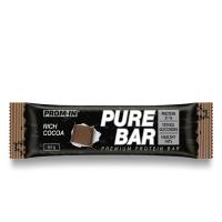 PROM-IN Essential Pure bar proteínová tyčinka natural kakao 65 g