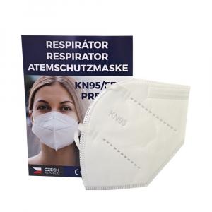PROMEDOR24 KN95 Premium 2 kusy jednorazový ochranný respirátor