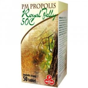 PURUS MEDA Propolis 50 kapsúl + Royal jelly 50 tabliet