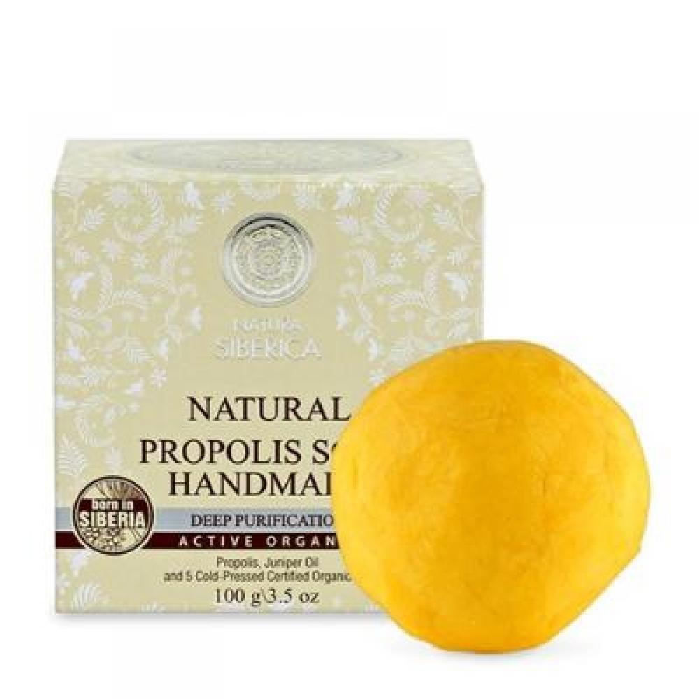 NATURA siberica Ručne vyrábané mydlo propolisové 100 g
