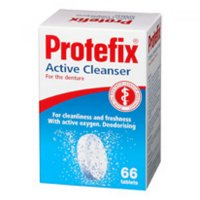 Protefix Aktívne čistiace tablety na zubnú protézu tbl.66