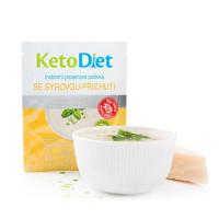 KETODIET Proteínová polievka so syrovou príchuťou 7 porcií