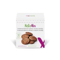 KETOMIX Proteínové kakaové sušienky s kúskami čokolády 30 ks