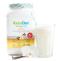 KETODIET Proteínový nápoj s príchuťou vanilka 35 porcií