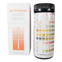 Prúžky diagnostické Multi 10 UrineScreen 100ks