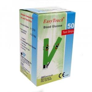 Prúžky EasyTouch - glukóza 50 kusov