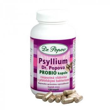 DR. POPOV Psyllium PROBIO 120 kapsúl