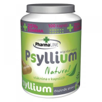 PHARMALINE Psyllium Natural 125 kapsúl