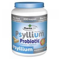 PHARMALINE Psyllium Probiotic 100 kapsúl