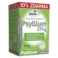 PHARMALINE Psyllium vláknina 250 g + 10% ZDARMA