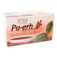 FYTOPHARMA Pu-erh so škoricou 20x 1,5 g
