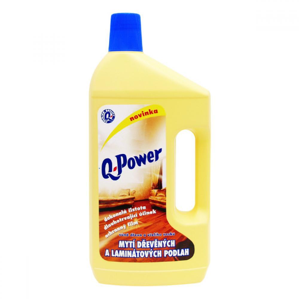 Q power čistič na drevo, lamino 1l