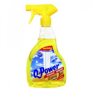 Q power čistič okien 500ml citrón