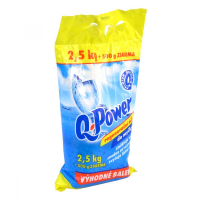 Q power regeneračná soľ do umývačky 2,5kg + 500gzdarma