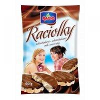 Raciolky mliečno - čokoládové 60g