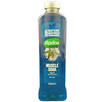 RADOX Pena do kúpeľa Muscle Soak500 ml