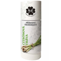 RAE Prírodný dezodorant roll-on Citrónová tráva 25 ml