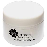 RAE Prírodný krémový dezodorant santalové drevo plastový téglik 15 ml