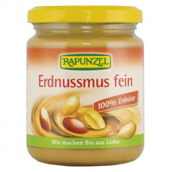 100% arašidová pasta jemná Rapunzel 250g-BIO