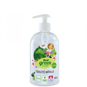 REAL GREEN CLEAN Tekuté mydlo s pumpou 500 g