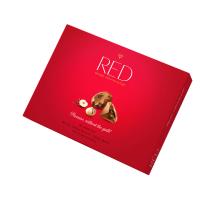 RED Bonboniéra bez pridaného cukru pralinky s lieskovými orieškami 132 g