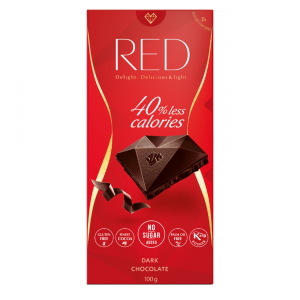 RED Horká čokoláda bez pridaného cukru 100 g