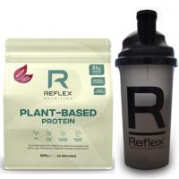 REFLEX NUTRITION Plant based protein príchuť kakao a karamel 600 g + šejker 500 ml ZADARMO