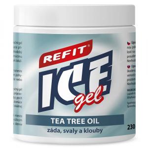 Refit Ice masážny gel s tea tree oil 230 ml
