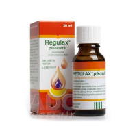 REGULAX pikosulfát sol por 20 ml