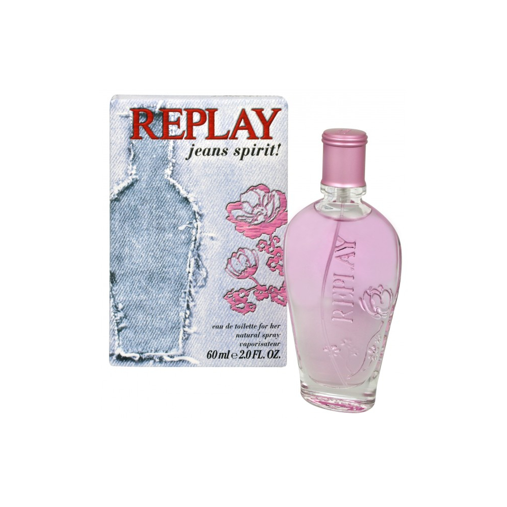 Replay Jeans Spirit For Her - toaletná voda s rozprašovačom 20 ml