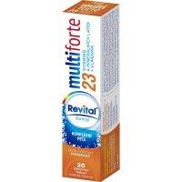 REVITAL Multi Forte Pomaranč šumivé tablety 20 ks