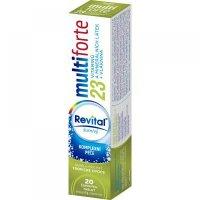 REVITAL Multi Forte Tropické ovocie šumivé tablety 20 ks