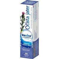 REVITAL Očista pečene – ostropestrec 20 šumivých tabliet : Výpredaj