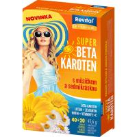 REVITAL Super Beta-karotén s nechtíkom a sedmokráskou 40+20 tabliet