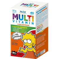 REVITAL The Simpsons Multivitamín + kolostrum 45 tabliet