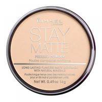 Rimmel London Stay Matte Long Lasting Pressed Powder 14g 005 Silky Beige