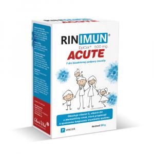 RINIMUN ACUTE 7 dní bioaktívnej podpory imunity 7 vrecúšok