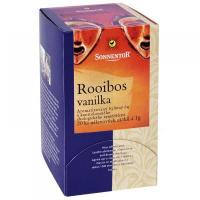 Rooibos vanilka bio porc. darčekový 20g