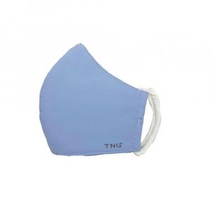 TNG Rúško textilné 3-vrstvové svetlo modré veľkosť L 5 kusov