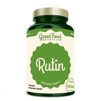 GREENFOOD NUTRITION Rutín 60 kapsúl