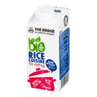 THE BRIDGE Ryžová alternatíva smotany na varenie 200 ml BIO