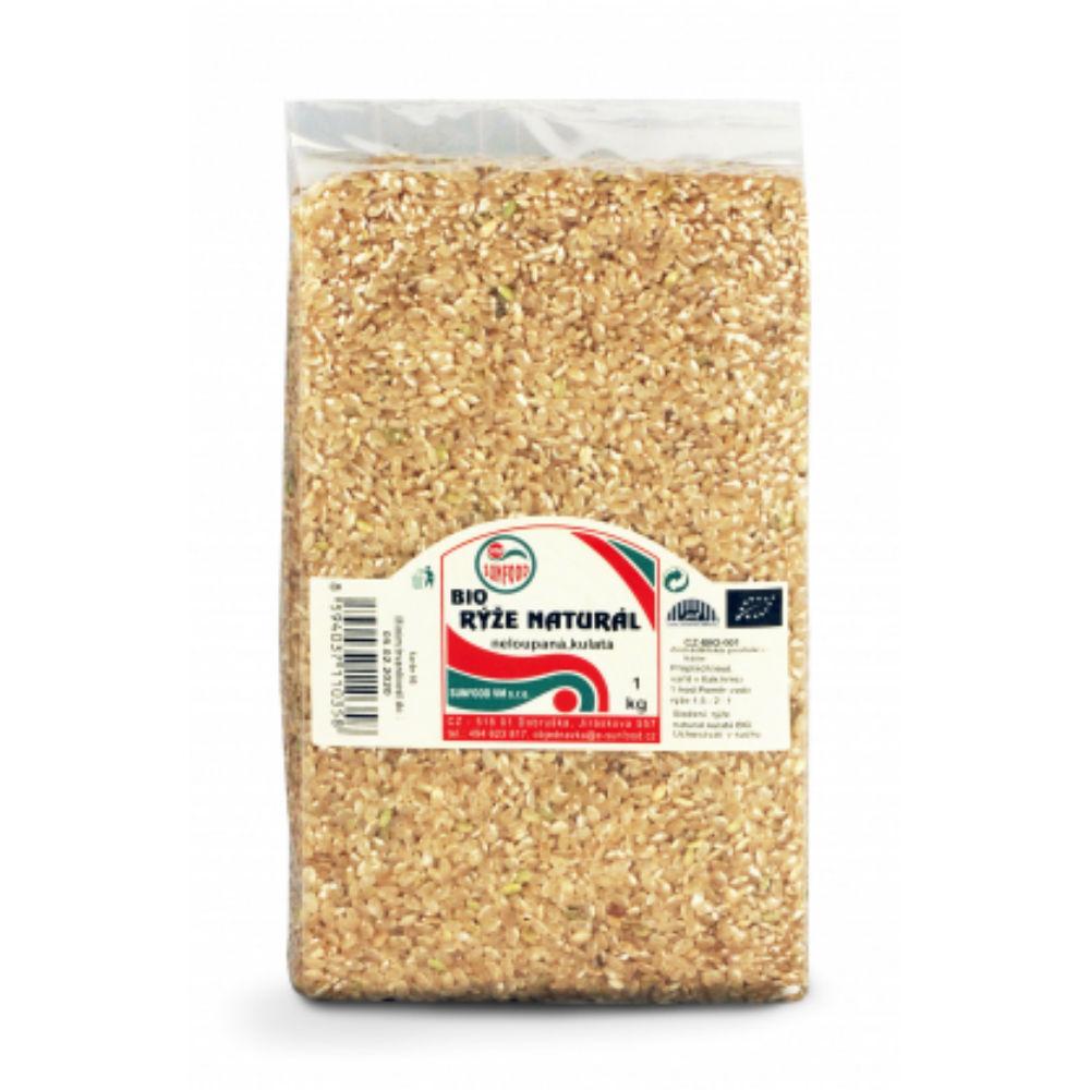 Ryža natural krátka BIO 1 kg vákua