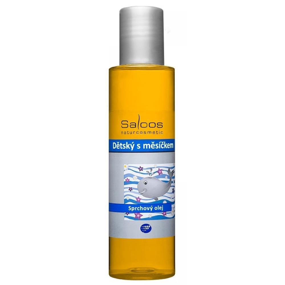 SALOOS Detský sprchový olej s nechtíkom 125 ml