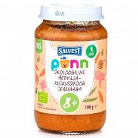 SALVEST Põnn Bravčové mäso s kuskusom a zeleninou od 8. mesiaca  BIO 190 g